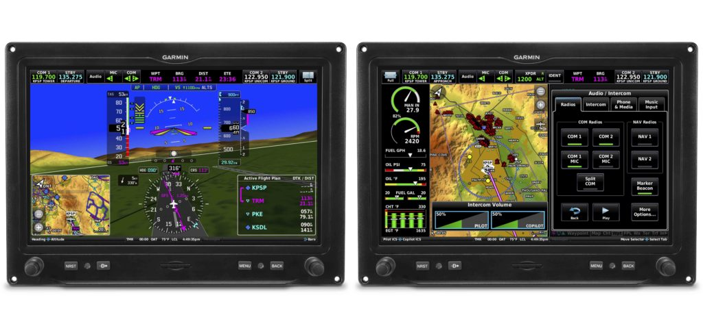 Dual Garmin G3X Touch displays