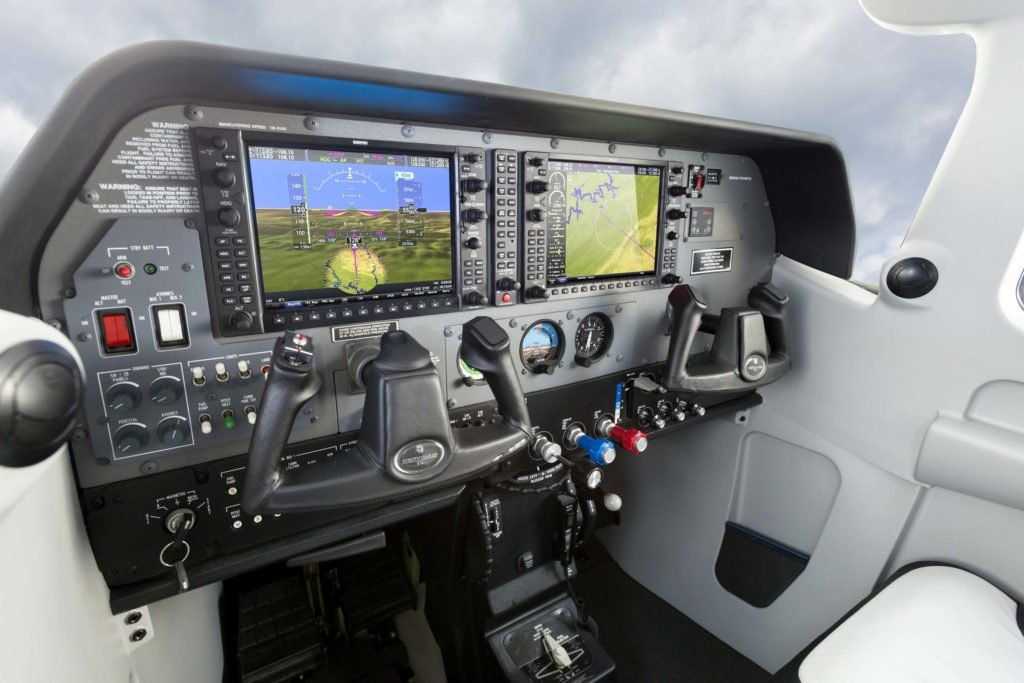 Cessna 206 cockpit featuring G1000 NXi